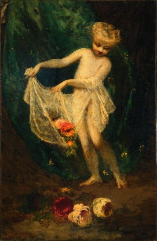 Cupid's Offering | Adolphe Joseph Thomas Monticelli | Oil Painting