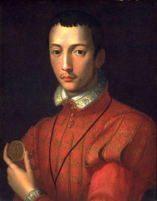 Portrait of Francesco I de'Medici | Alessandro Allori | Oil Painting