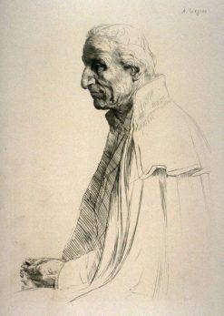 Aged Spaniard | Alphonse Legros | Oil Painting