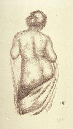 Femme de dos