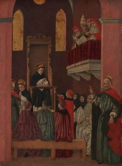 The Vision of Fra Paolino (from Scenes from Saint Thomas Aquinas) | Bartolomeo degli Erri | Oil Painting