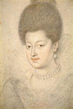 Portrait of Gabrielle d'Estrées | Daniel Dumonstier | Oil Painting