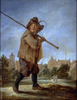 Peasant Walking | David Teniers II | Oil Painting