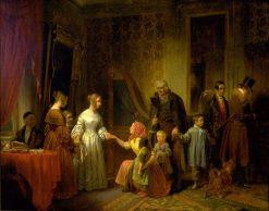 The Blind Tenant | David Wilkie | Oil Painting