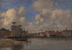 Dunkirk | Eugene Louis Boudin | Oil Painting