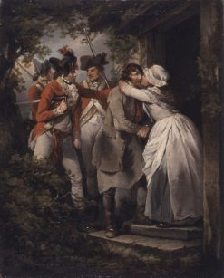 The Deserter's Farewell | George Morland | Oil Painting