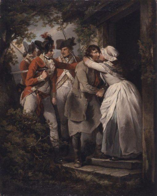 The Deserter's Farewell | George Morland | Oil Painting