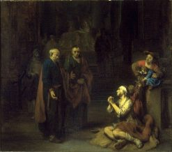 Saint Peter Healing the Lame | Gerbrand van den Eeckhout | Oil Painting
