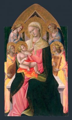 Madonna and Child with Angels | Giovanni dal Ponte | Oil Painting