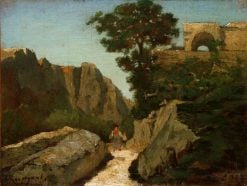 Landscape at Capri | Henri Joseph Harpignies | Oil Painting