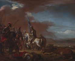 After the Battle   Jacques Courtois   Oil Painting