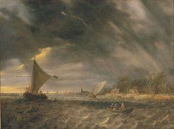 The Thunderstorm | Jan van Goyen | Oil Painting