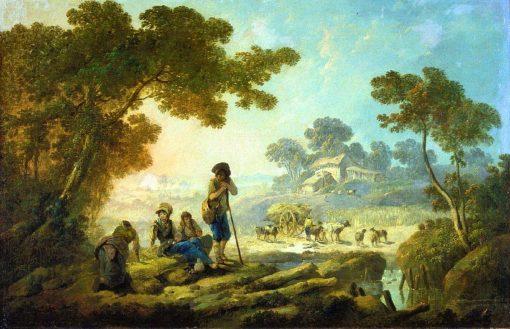 Les Moissoneurs | Jean Pillement | Oil Painting