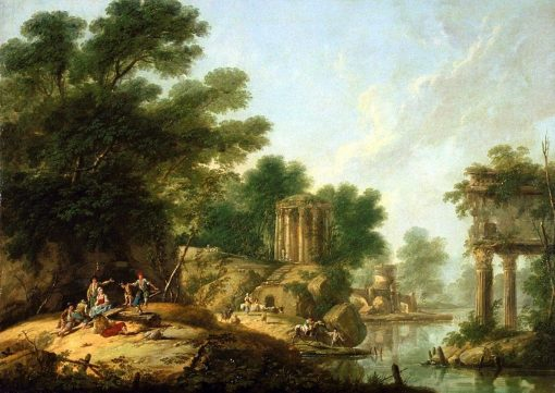 Les Ruines | Jean Pillement | Oil Painting