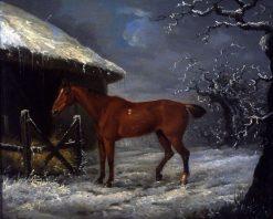 A Horse | John Nost Sartorius | Oil Painting