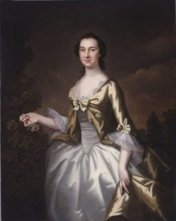 Elizabeth North Plumstead (later Mrs. William Elliot) | John Wollaston | Oil Painting