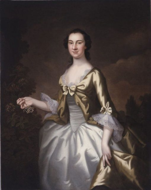 Elizabeth North Plumstead (later Mrs. William Elliot) | John Wollaston | Oil Painting