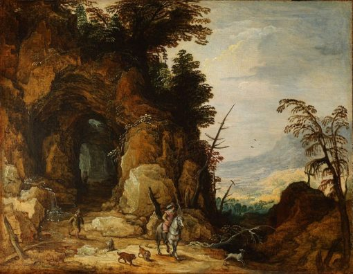A Mountain Road | Joos de Momper the Younger | Oil Painting