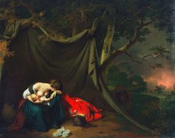 The Dead Soldier | Joseph Wright of Derby | Oil Painting