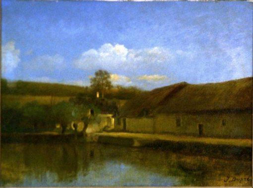 Landscape | Jules DuprE | Oil Painting