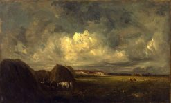 Landscape (Haying Time) | Jules DuprE | Oil Painting