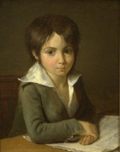 Portrait of a Child | Louis LEopold Boilly | Oil Painting