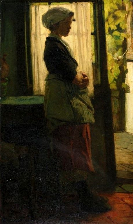 Young Woman | Matthijs Maris | Oil Painting