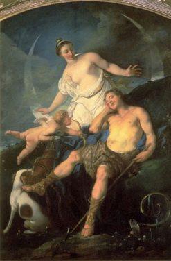 Diana and Endymion | Michel Francois DandrE Bardon | Oil Painting