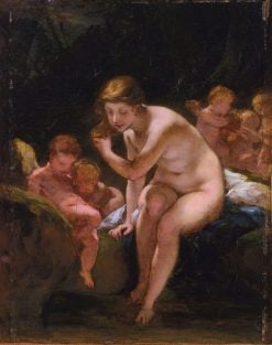 Venus Bathing | Pierre Paul Prud'hon | Oil Painting