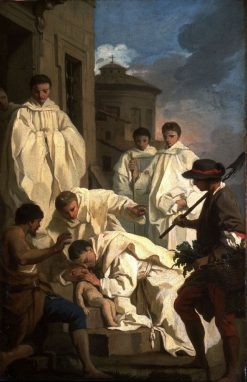 The Miracle of Saint Benedict | Pierre Subleyras | Oil Painting