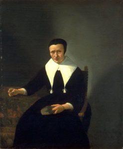 Portrait of a Woman   Quiringh van Brekelenkam   Oil Painting