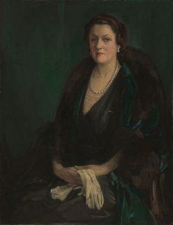 Alma de Bretteville Spreckels (Mrs. Adolph B. Spreckels) | Sir John Lavery