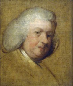 Dr Samuel Johnson | Sir Joshua Reynolds | Oil Painting