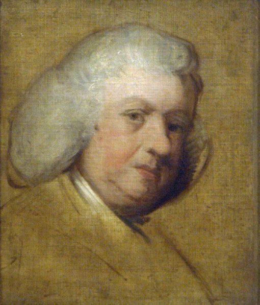 Dr Samuel Johnson   Sir Joshua Reynolds   Oil Painting