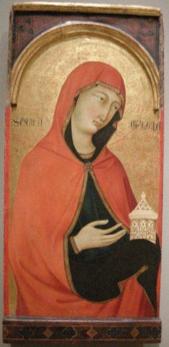 Santa Maria Maddelena   Ugolino di Nerio   Oil Painting