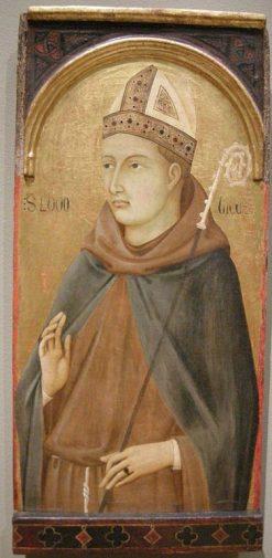 Saint Ludovico of Tolosa   Ugolino di Nerio   Oil Painting