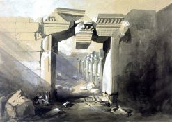 Ruins of the Temple of Baalbec | William James Muller | Oil Painting