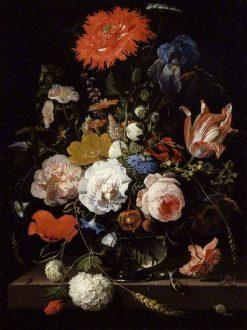 Flower Piece | Abraham Mignon | Oil Painting