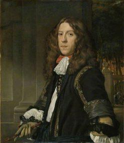 Portrait of a Man | Abraham van den Tempel | Oil Painting