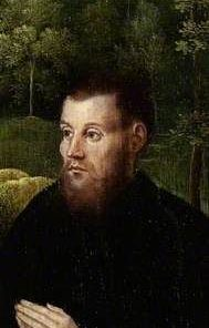 A Male Donor   Adriaen Isenbrandt   Oil Painting