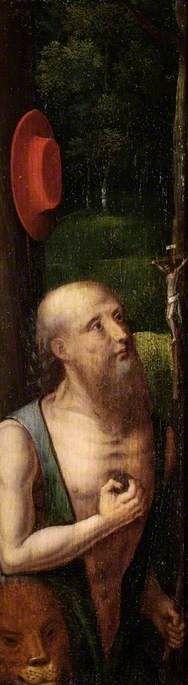 Saint Jerome   Adriaen Isenbrandt   Oil Painting