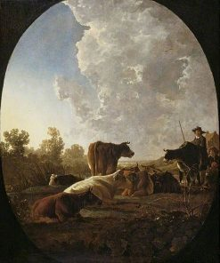 Sunset after Rain | Aelbert Cuyp | Oil Painting