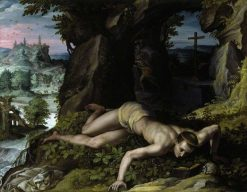 The Temptation of Saint Benedict | Alessandro Allori | Oil Painting