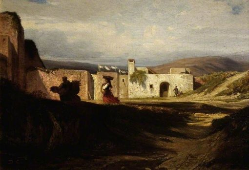 Scene in the Near East | Alexandre Gabriel Decamps | Oil Painting