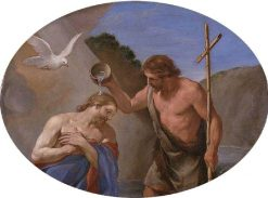 The Baptism of Christ | Andrea Sacchi | Oil Painting