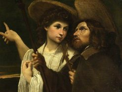 Saint Roch and the Angel | Annibale Carracci | Oil Painting