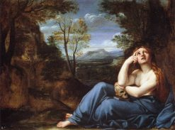 Mary Magdalene in a Landscape(also known as The Penitent Magdalen) | Annibale Carracci | Oil Painting