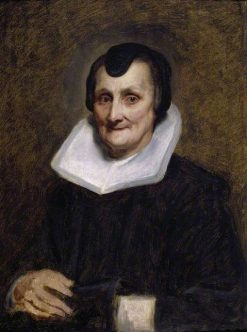 An Old Woman | Anthony van Dyck | Oil Painting