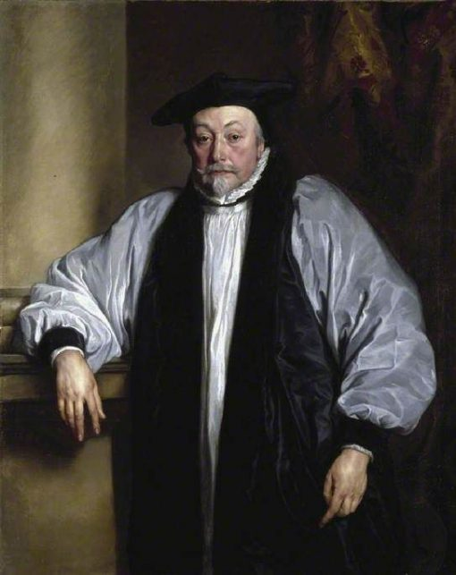 Archbishop Laud (1573-1645) | Anthony van Dyck | Oil Painting