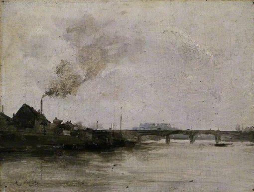River Scene | Antoine Vollon | Oil Painting